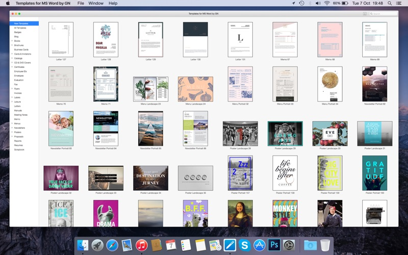 Templates for MS Word by GN Screenshots
