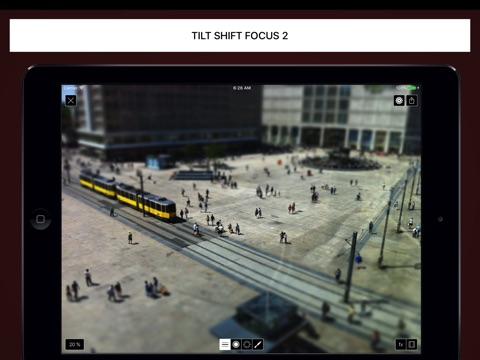Tilt Shift Focus HD screenshot 1