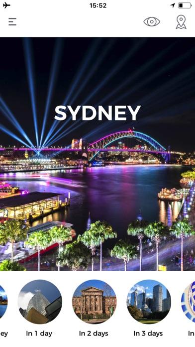 Sydney Guide de VoyageCapture d'écran de 1