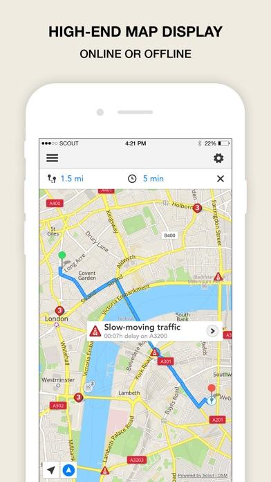 Scout Navigation & Maps (UK) Screenshots