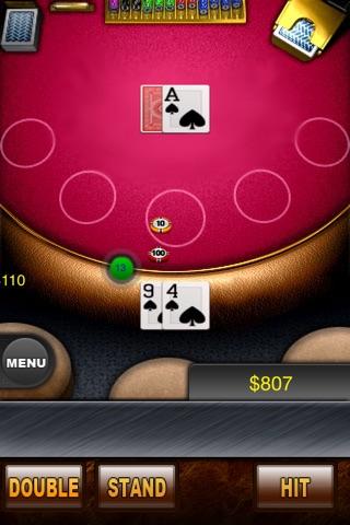 Blackjack Platinum screenshot 1