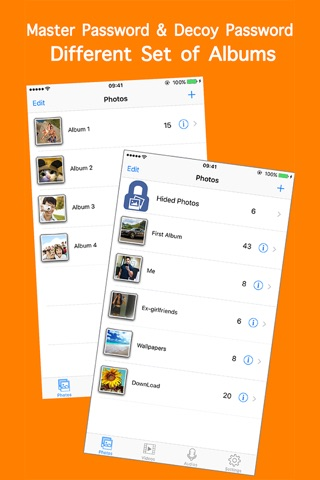 Hide Private Photos & Video-s screenshot 3