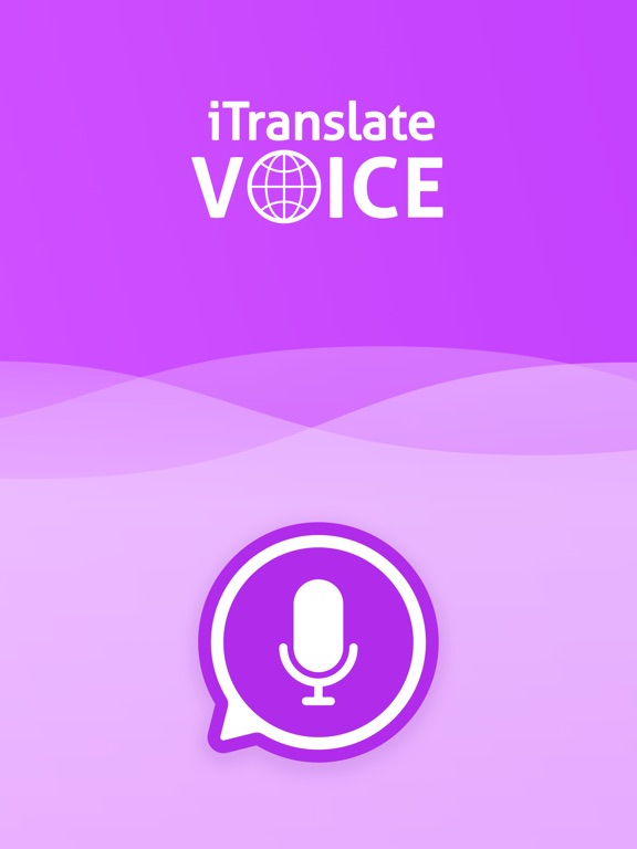 iTranslate Voice Screenshots