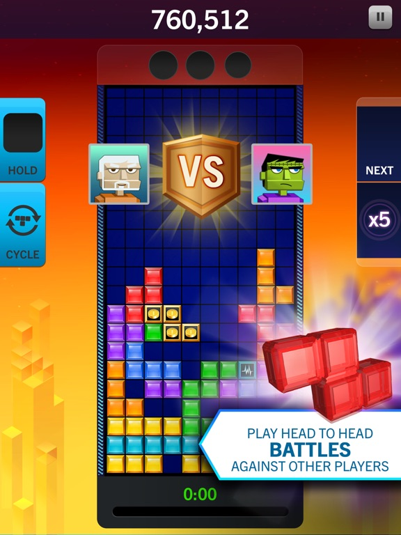 Screenshot #4 for Tetris® Blitz