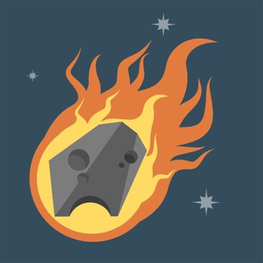 Asteroids vs Earth iOS App