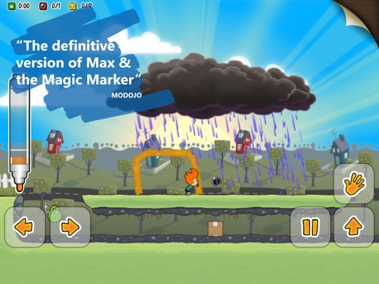Max & the Magic Marker - Remastered Screenshots