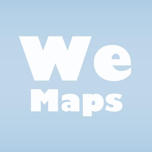 八式世界地図決定版 - We Maps