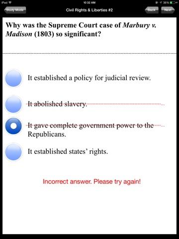 AP US Government and Politics screenshot 3