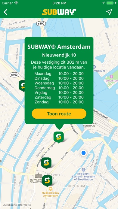 Subway coupons nl