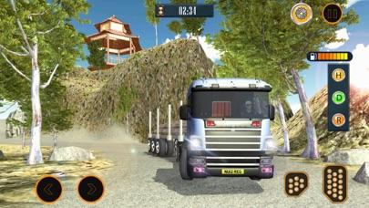 Водитель грузовика: Автостоянка автомобилей Скриншоты3