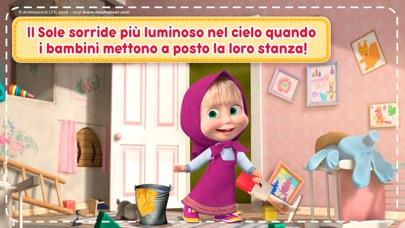 Screenshot of Masha e Orso: Giochi di Case2