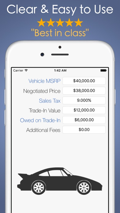 Car Payment Calculator Mobile On The App Store