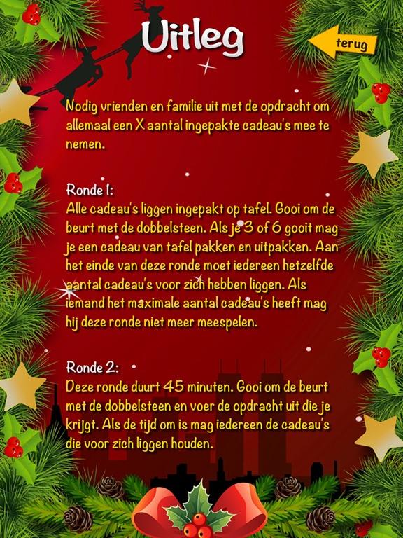 Cadeau Dobbelspel Kerst