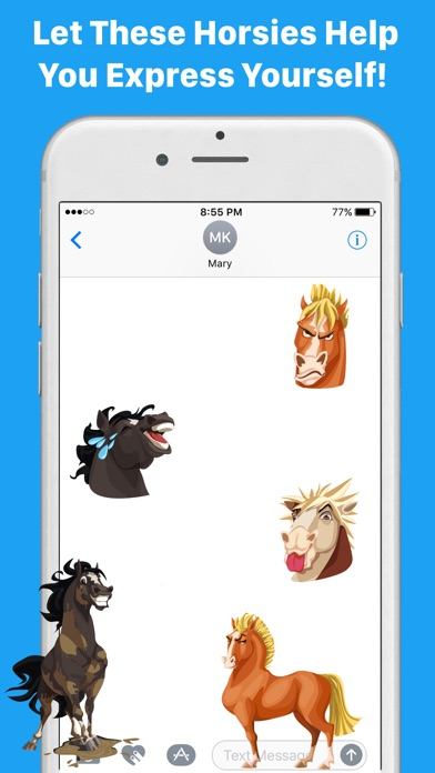 HorseMoji+ screenshot 4