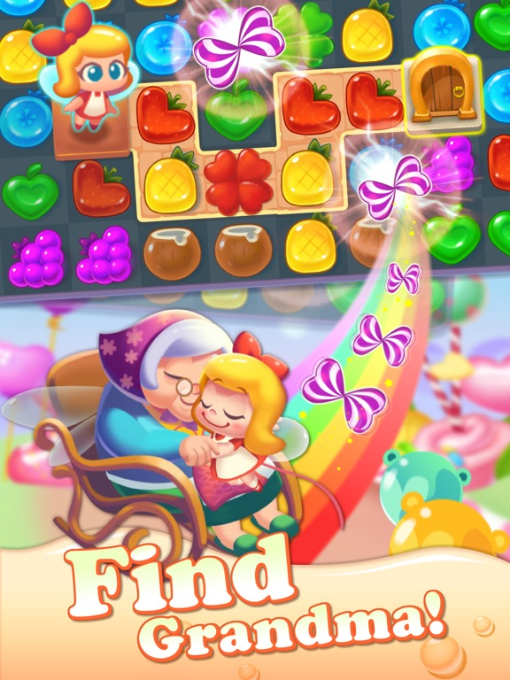 Tasty Treats - A Match 3 Game Скриншоты9
