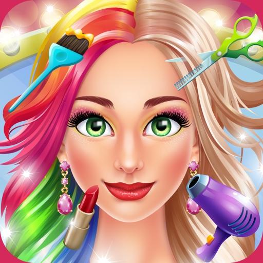 Hair salon makeover party por kids games studio llc - Beauty salon makeover games ...
