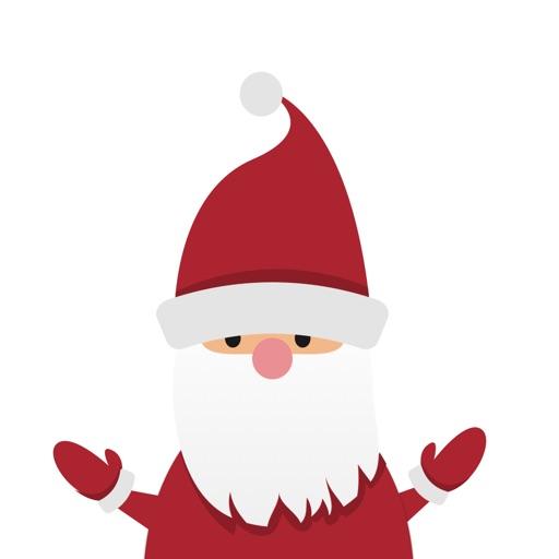 Santa Ski Runner