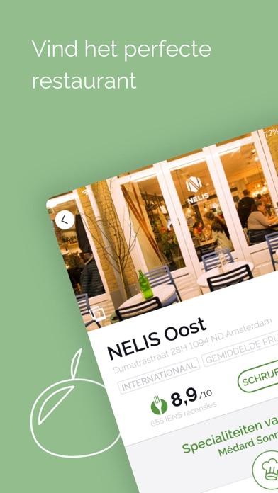 Download IENS Dé online restaurantgids App