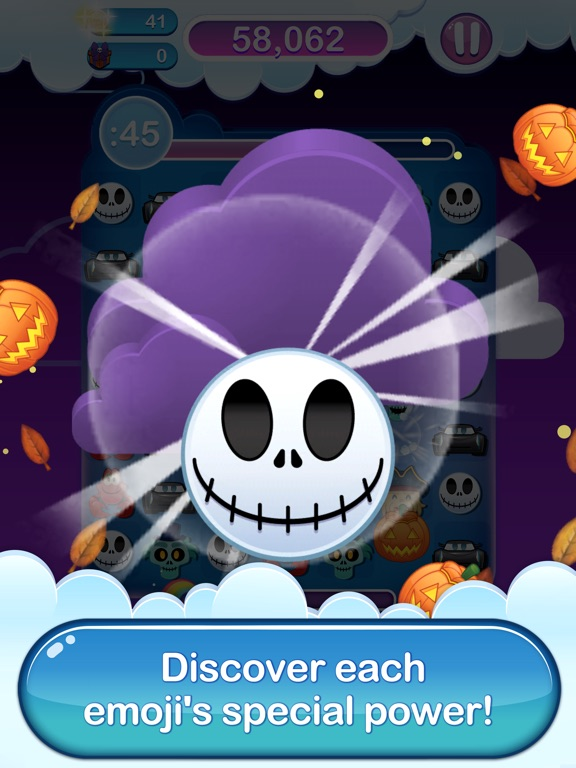 Disney Emoji Blitz - Halloween iPad