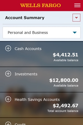 Wells Fargo Mobile screenshot 2