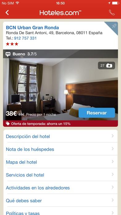 download Hoteles.com Reservas de hotel apps 1