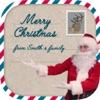 趣味動畫聖誕祝福卡