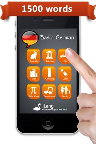 Learn German  iLang™ screenshot 1
