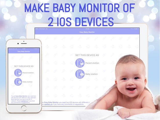 app shopper easy baby monitor babysitter lifestyle. Black Bedroom Furniture Sets. Home Design Ideas