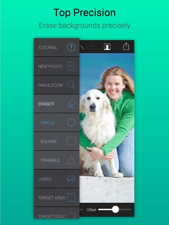 Screenshots of Background Eraser Remover - Superimpose Transparent Photo Editor App for iPad