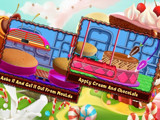 Chocolate Cake Factory Game Download