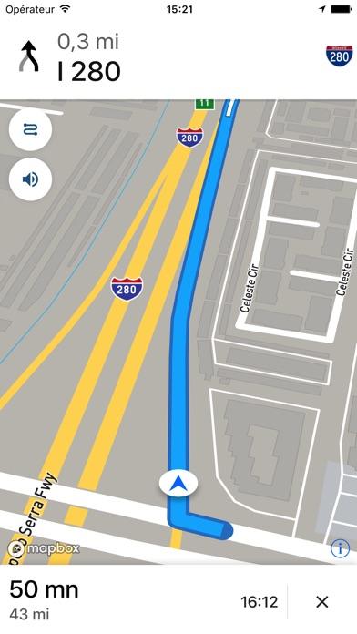 REVER: Itinéraires moto et GPSCapture d'écran de 5