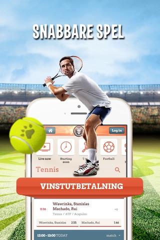 LeoVegas Sport Betting screenshot 3
