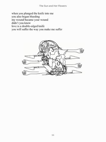 كتاب the sun and her flowers مترجم pdf
