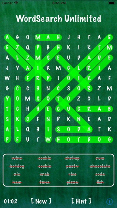 Screenshots of Word Search Unlimited Free for iPhone