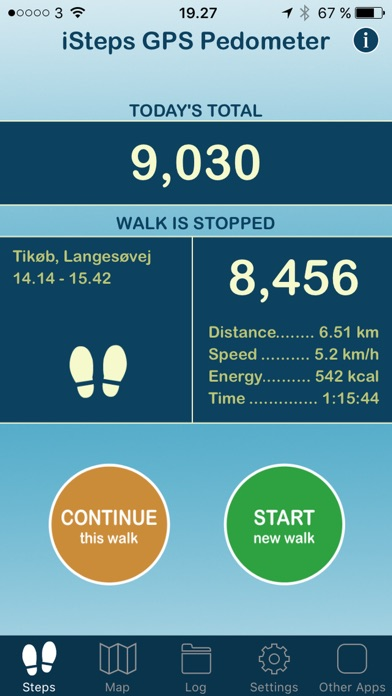 iSteps GPS Pedometer on the App Store