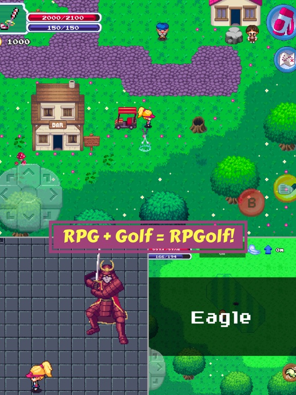 RPGolf Screenshots