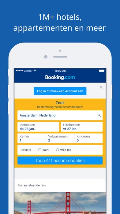 Download Booking.com Hotelreserveringen App