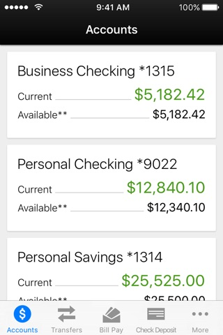 Sun National Bank Mobile Banking screenshot 1