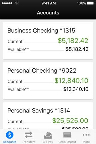 Sun National Bank Mobile Banking screenshot 1