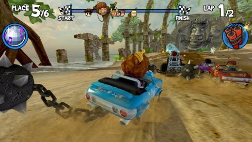 Beach Buggy Racing Screenshots