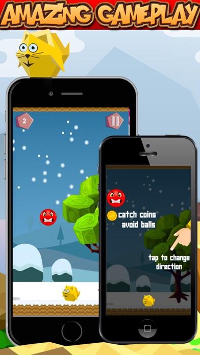 Bouncy Red Ball vs Bird Pro Screenshot 3