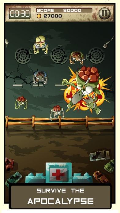 Stay Alive: Zombie Shooter Action RPG Screenshot