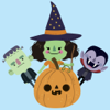 download Halloween Character animated 1