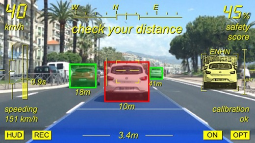 Augmented Driving Screenshots