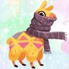 download Llama Drama Pajama! Stickers