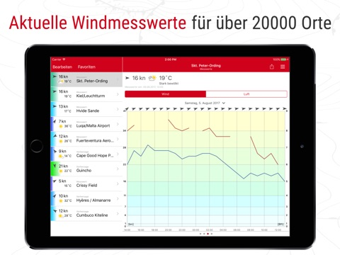 Windfinder Pro screenshot 2