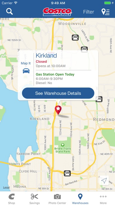 Costco On The App Store - Map of costco in us