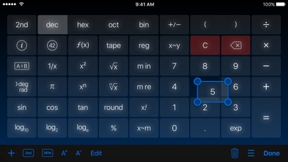 Screenshot #9 for PCalc - The Best Calculator