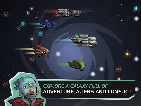 Halcyon 6: Starbase Commander iOS Screenshots