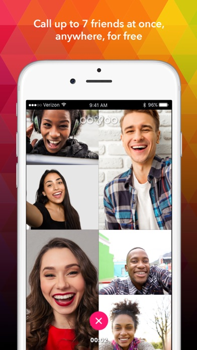 ooVoo – Video Calls, Messaging & Stories IPA Cracked for iOS Free